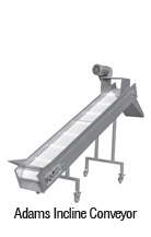 Adams Incline Conveyor