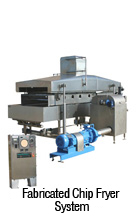 Fabricated Chip Fryer System